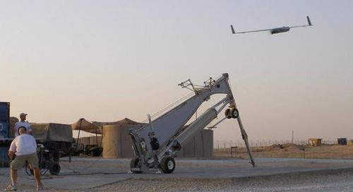 Scaneagle_pneumatic_catapult_launch
