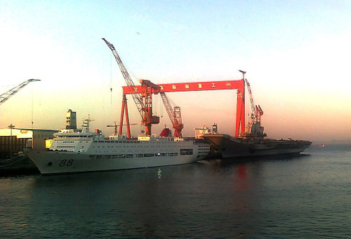 Varyag_during_refitting
